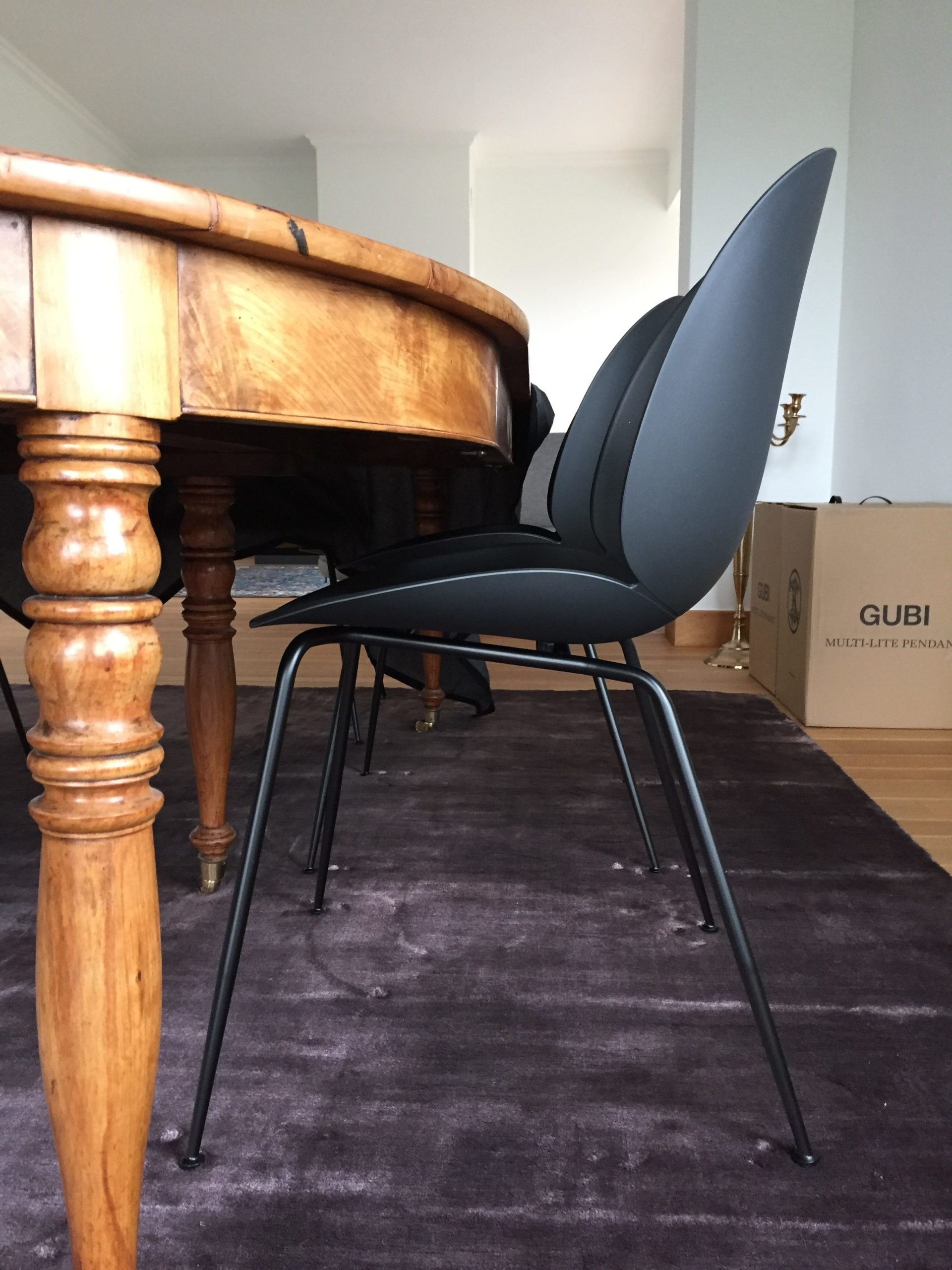 gubi beetle chair  wavre decoration design massimo cph